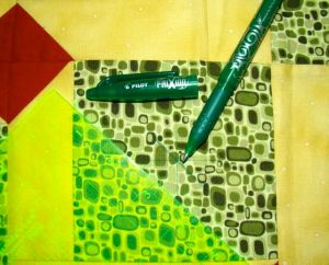 Quilt marking