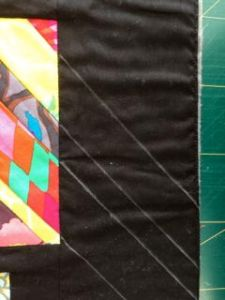 Marking a quilt top