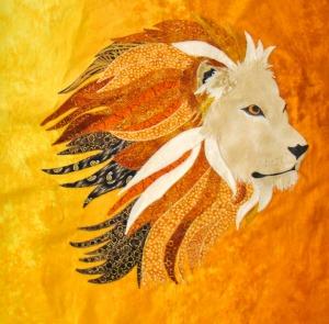 Africa Quilt - Lion
